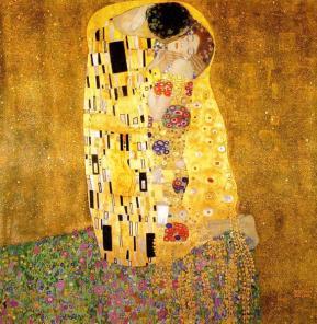 Der Kuss (1908), Gustav Klimt